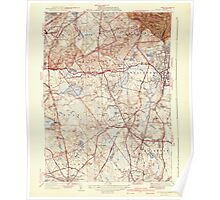 Massachusetts  USGS Historical Topo Map MA Blue Hills 351567 1941 31680 Poster