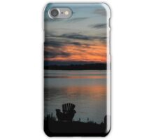 Muskoka Chair Sunset iPhone Case/Skin