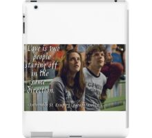 Love quote - Adventureland iPad Case/Skin