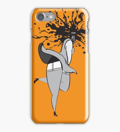 Seductive Ghost (Color Burst) iPhone Case/Skin