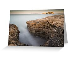 Carved by the Sea - Ballintoy Greeting Card