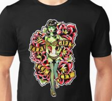 Dead Girls Don't Cry Zombie Pinup Tee Unisex T-Shirt