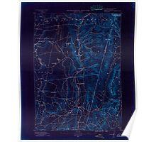 Massachusetts  USGS Historical Topo Map MA Berlin 139229 1890 62500 Inverted Poster