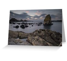 Ballintoy Sea Stack Greeting Card