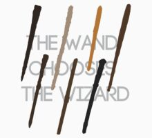 The Wand Chooses The Wizard Kids Clothes