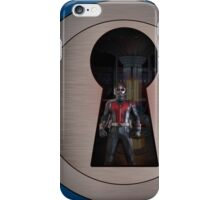 An Ant in the Keyhole iPhone Case/Skin