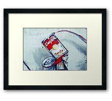 Warhol style Framed Print