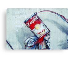 Warhol style Canvas Print