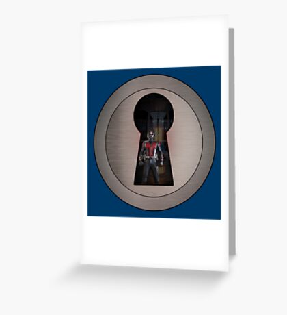 An Ant in the Keyhole Greeting Card