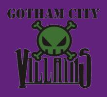 Gotham City Villians by danraji