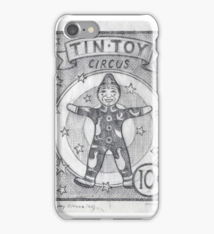 Tin Toy Circus iPhone Case/Skin