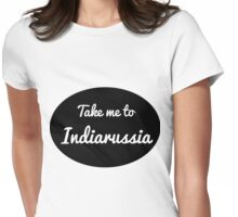 Indiarussia Womens Fitted T-Shirt