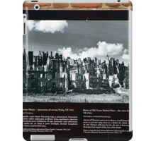 Warsaw Ruins of the Wall iPad Case/Skin