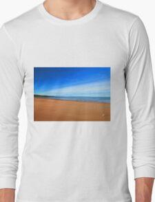 Harmonic Beach - Sand, Sea and Sky Long Sleeve T-Shirt