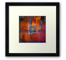 Cherry Abstract Framed Print