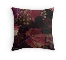 The Blood of the Grape Throw Pillow