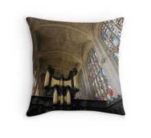 The Kings Organ Throw Pillow