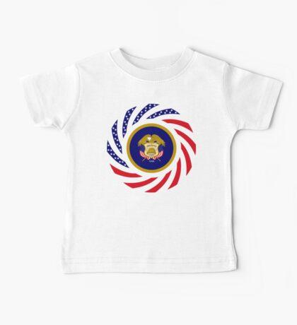 Utah Murican Patriot Flag Series Baby Tee