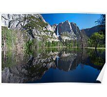 Flooded Yosemite Poster