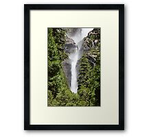 Lower Yosemite Falls Framed Print
