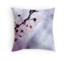 Spring's Here Throw Pillow