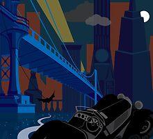 Gotham City by Evan Ayres