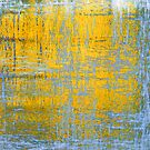 Yellow Ice Abstract by finnarct