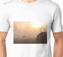 Foggy Morning on the Farm, As Is Unisex T-Shirt
