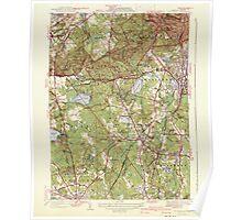 Massachusetts  USGS Historical Topo Map MA Blue Hills 351561 1941 31680 Poster