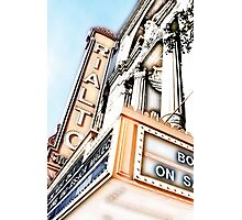 rialto square theater, joliet, illinois Photographic Print