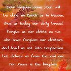 The Lord&#x27;s Prayer II by Faith Miriam