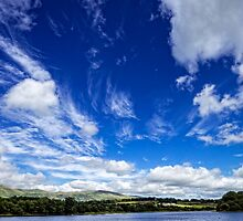 Ochil View from Gartmorn Dam Country Park by Jeremy Lavender Photography