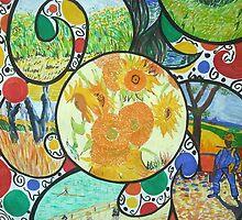 Van Gogh Study by Corrina Holyoake