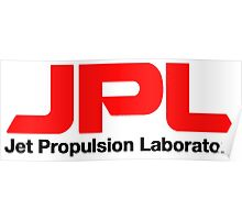 Jet Propulsion Laboratory Logo Poster