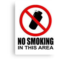 No smoking - CS:GO Canvas Print