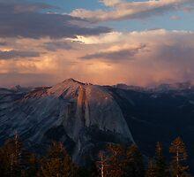 Half Dome Sunset by rakosnicek