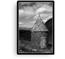 Turret Hut Canvas Print