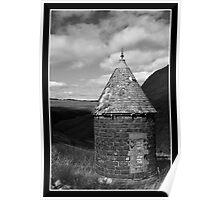 Turret Hut Poster