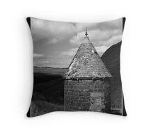 Turret Hut Throw Pillow