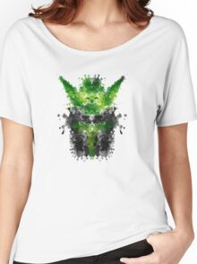 Rorschach Yoda Women's Relaxed Fit T-Shirt