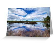 Soaring Above the Bog Greeting Card