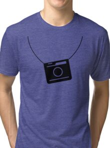 Retro camera Tri-blend T-Shirt