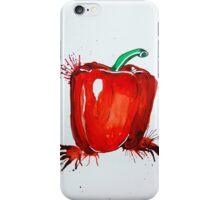 Red Pepper Rectangle iPhone Case/Skin