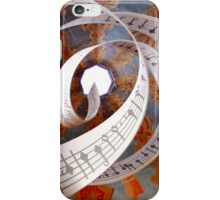 Music Spirals to the Heavens iPhone Case/Skin