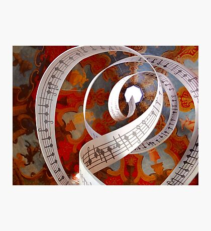 Music Spirals to the Heavens Photographic Print