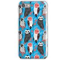 pattern of owls iPhone Case/Skin