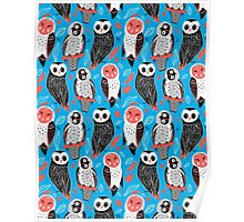 pattern of owls Poster