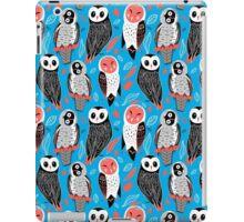 pattern of owls iPad Case/Skin