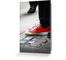 Walk on by ... Greeting Card