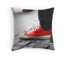 Walk on by ... Throw Pillow